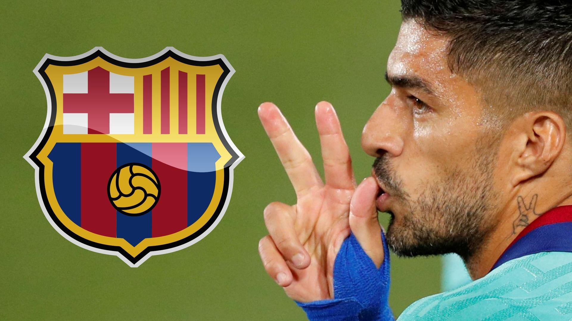 سواريز يفسخ عقده مع برشلونة ويحدد وجهته