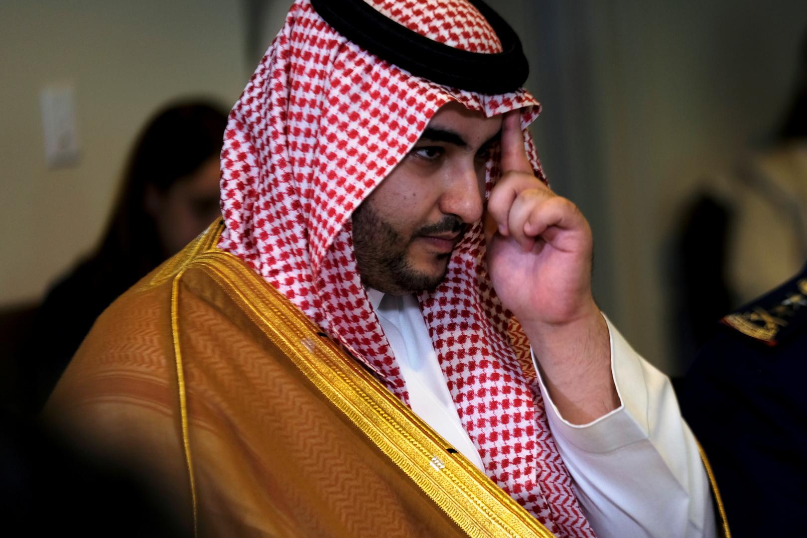 نائب وزير الدفاع  السعودي الأمير خالد بن سلمان: نسعى إلى سلام شامل ودائم في اليمن