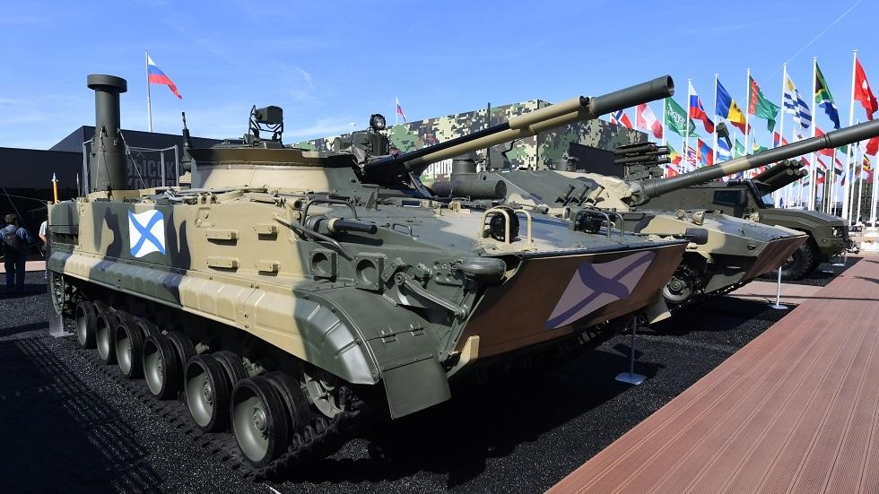 عربات BMP-3F القتالية الروسية