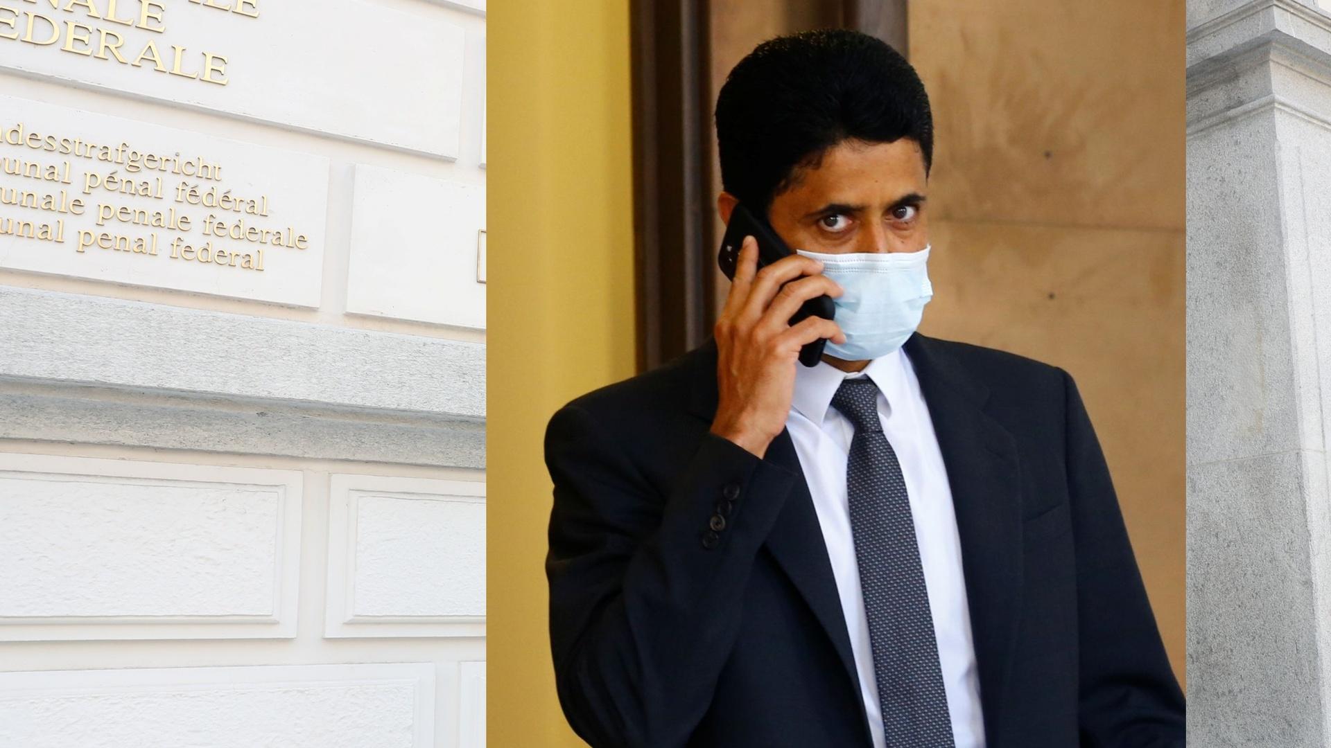 الادعاء السويسري يطالب بسجن ناصر الخليفي بسبب فضيحة