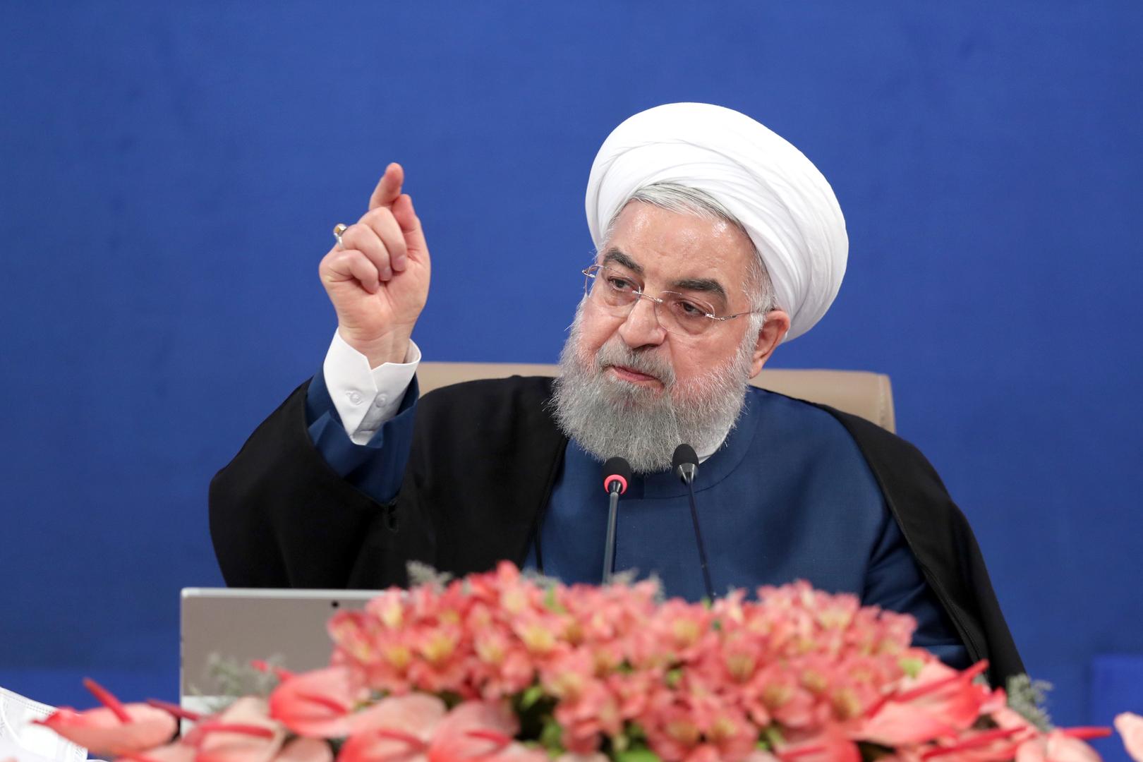 روحاني: لا يمكن للولايات المتحدة أن تفرض علينا لا الحرب ولا المفاوضات