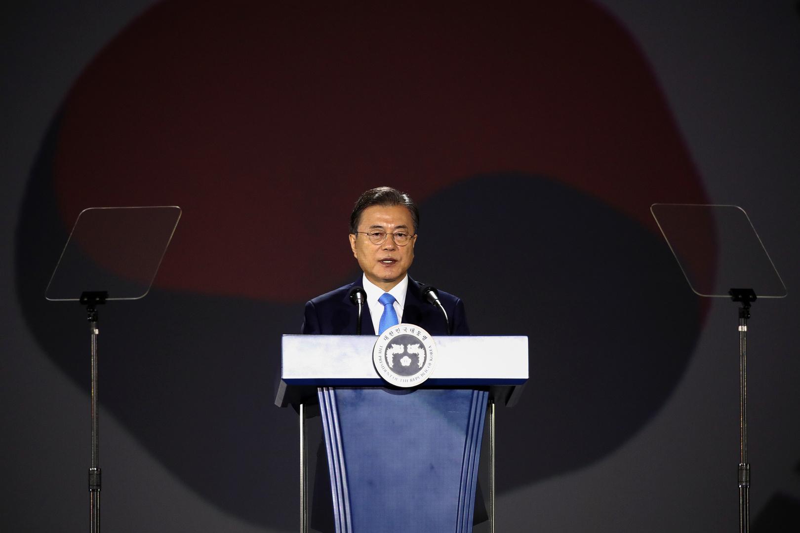 رئيس كوريا الجنوبية يقترح مبادرة لمكافحة كورونا تشمل كوريا الشمالية