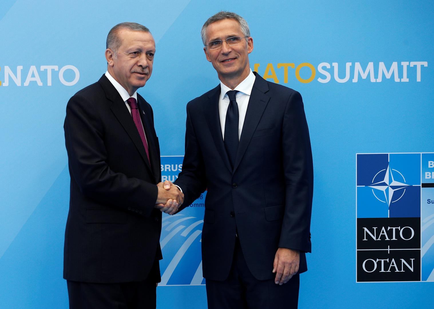 أردوغان لستولتنبرغ: سير المحادثات مع اليونان يعتمد على خطواتها