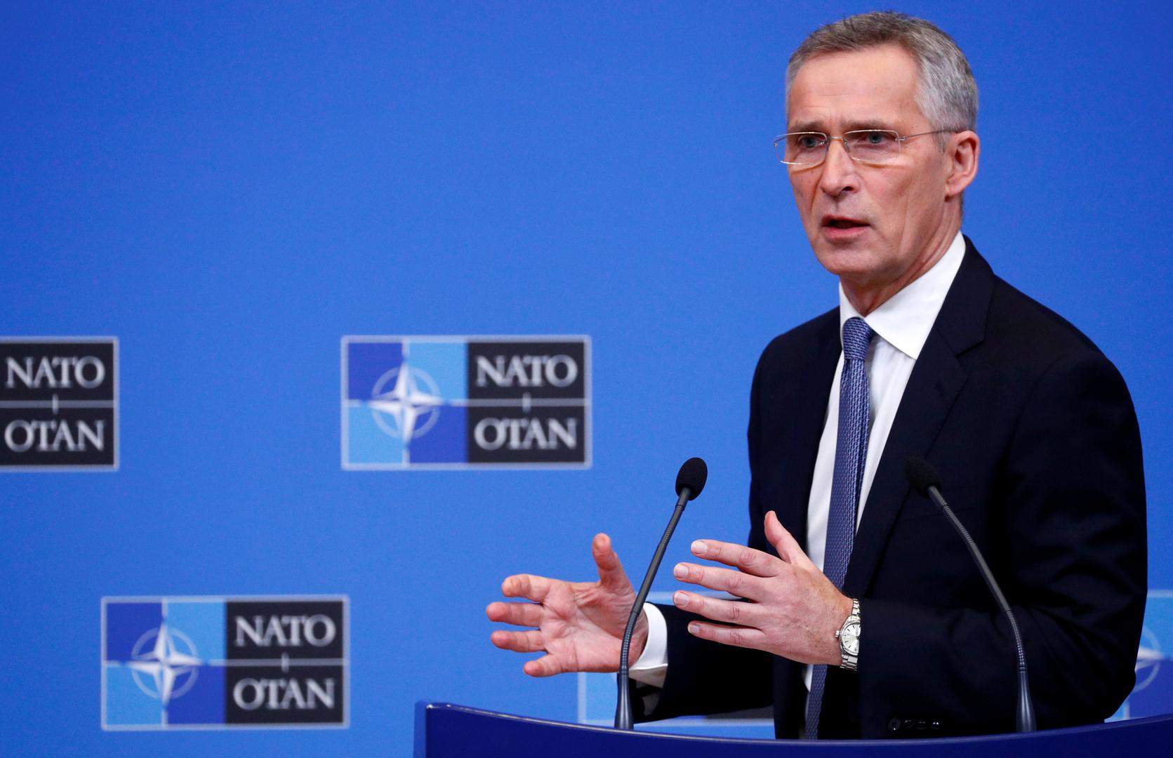 الأمين العام لحلف الناتو، ينس ستولتنبيرغ.