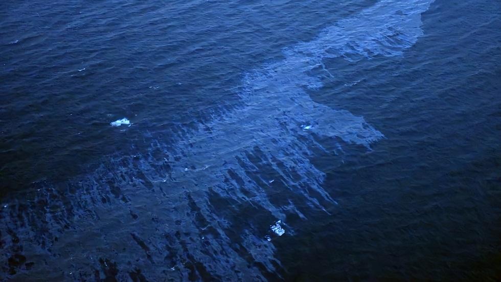 تسرب نفط في البحر (صورة أرشيفية)