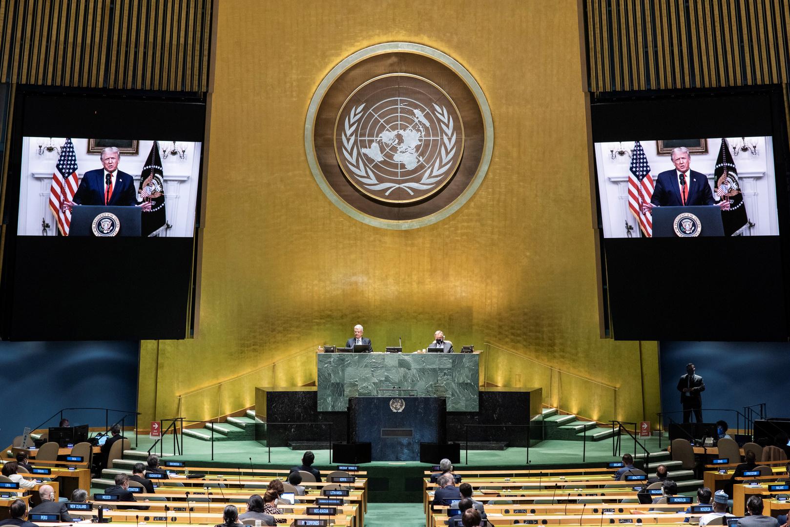 الولايات المتحدة تمسح قدميها بالأمم المتحدة وإيران تنتظر الثالث من نوفمبر