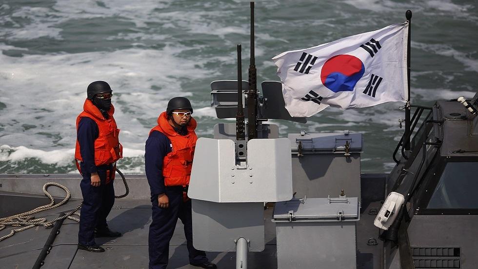 دورية للبحرية الكورية الجنوبية قبالة جزيرة يونبيونغ (صورة أرشيفية)