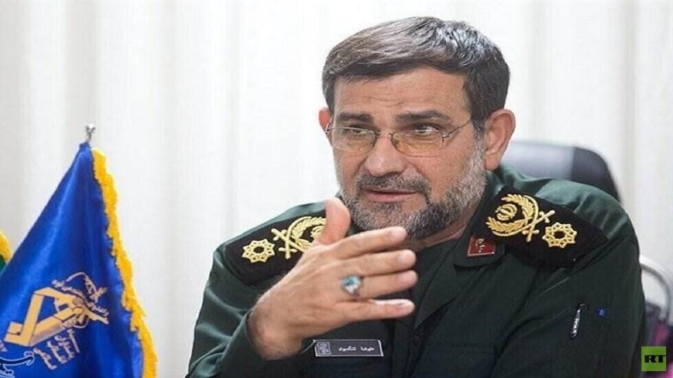 الحرس الثوري الإيراني يكشف عن قاعدة عسكرية بحرية جديدة شرق مضيق هرمز
