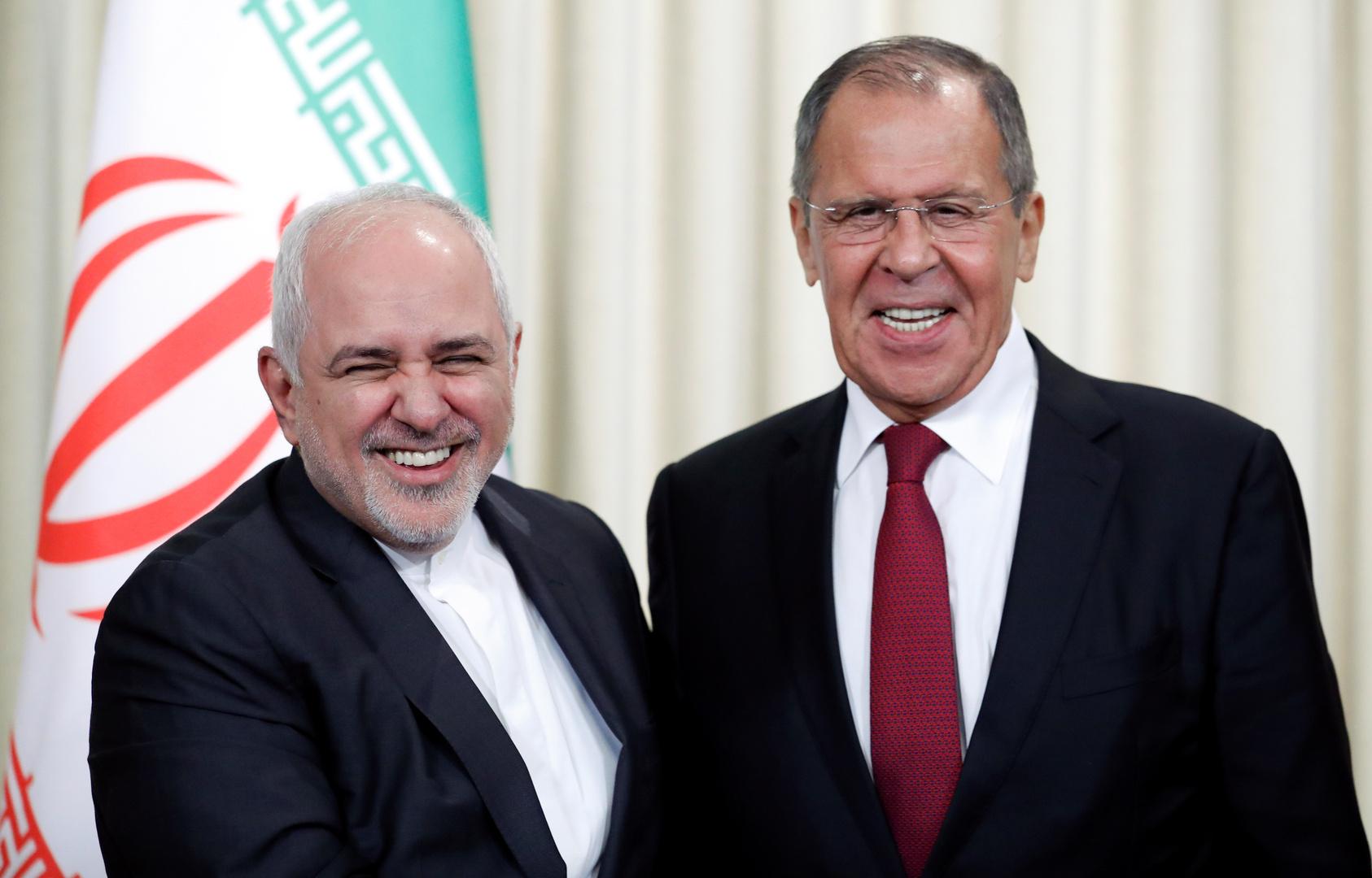 سيرغي لافروف ومحمد جواد ظريف