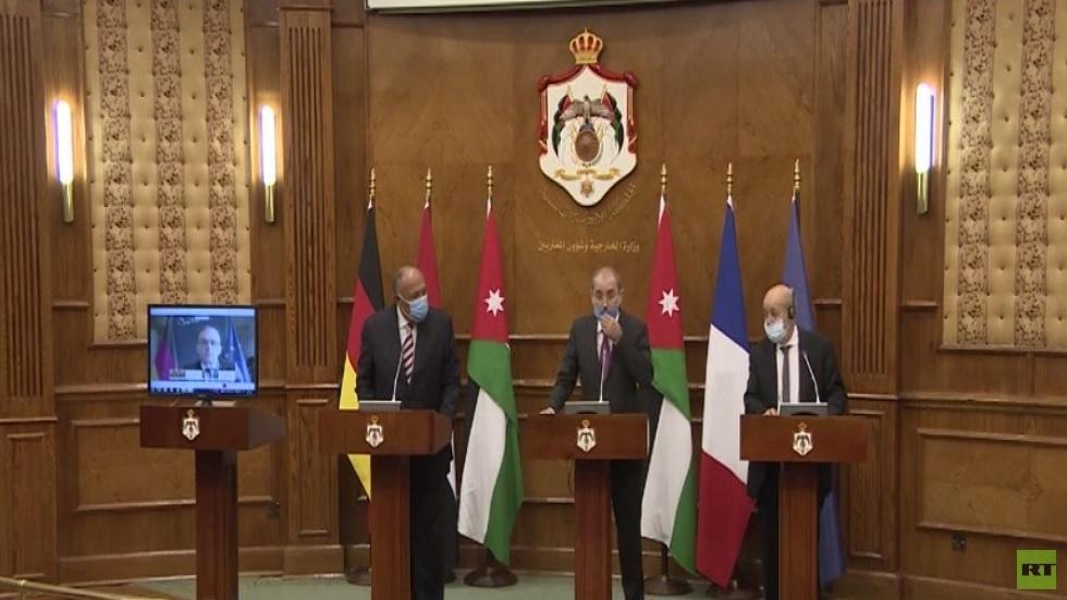 تأكيد عربي أوروبي على ضرورة حل الدولتين