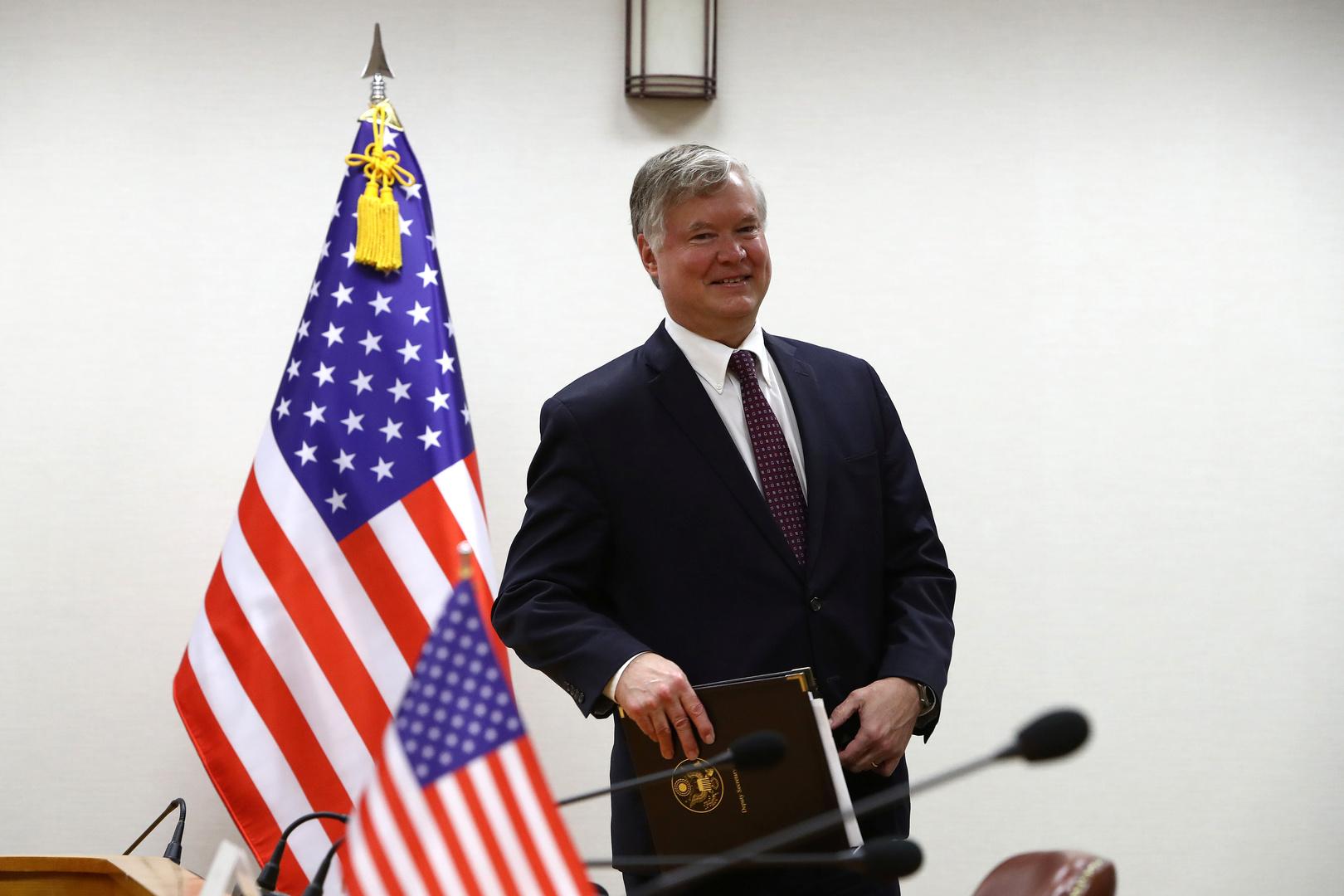 نائب وزير الخارجية الأمريكي ستيفن بيغون