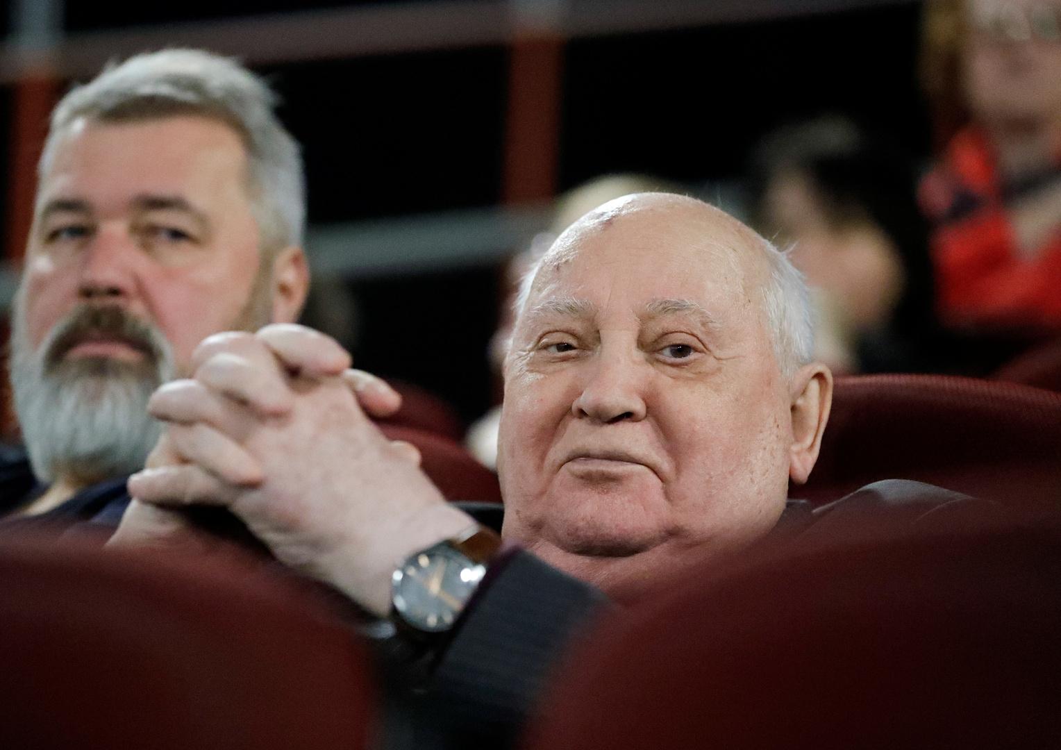 غورباتشوف يشيد بالمحتجين في بيلاروس