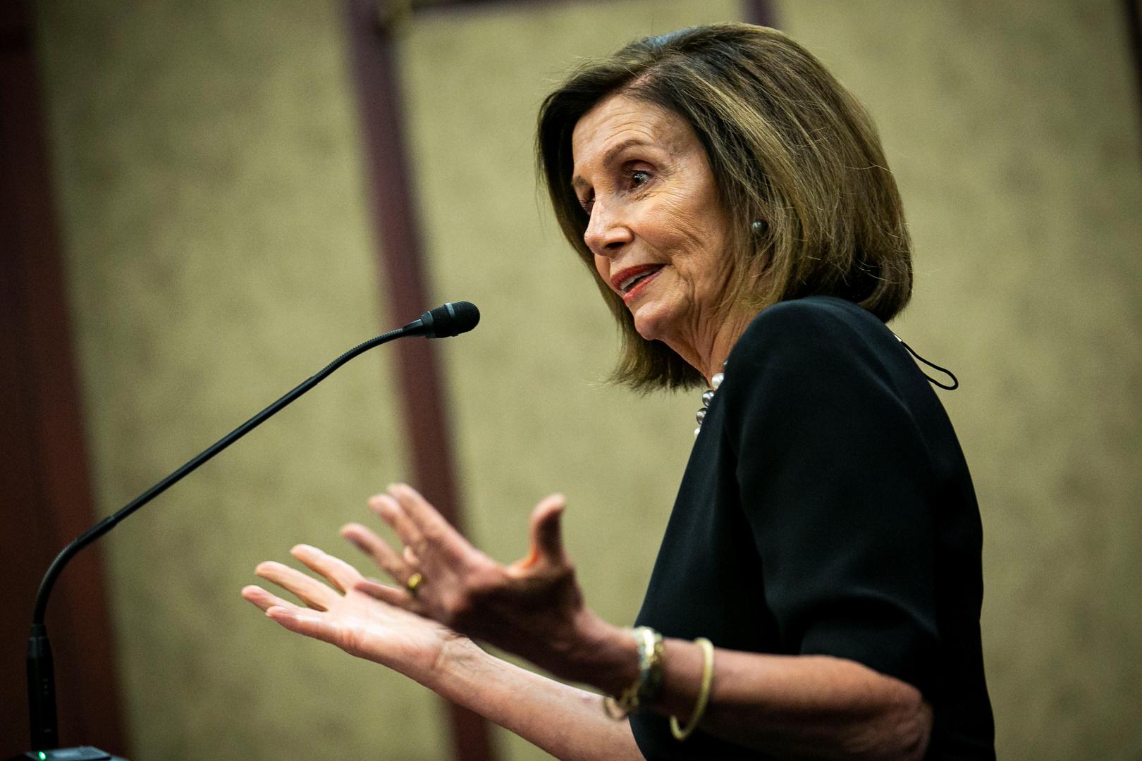 أنقرة: بيلوسي معروفة بجهلها التام ووصولها لرئاسة مجلس النواب الأمريكي مدعاة للقلق