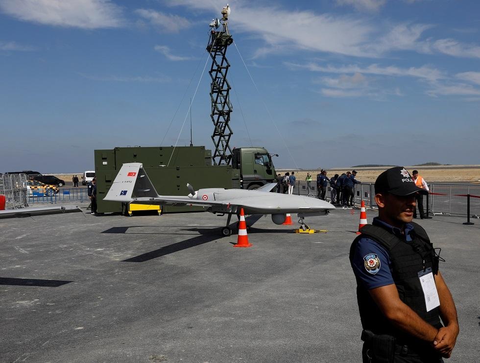 طائرة بدون طيار تركية -صورة تعبيرية-