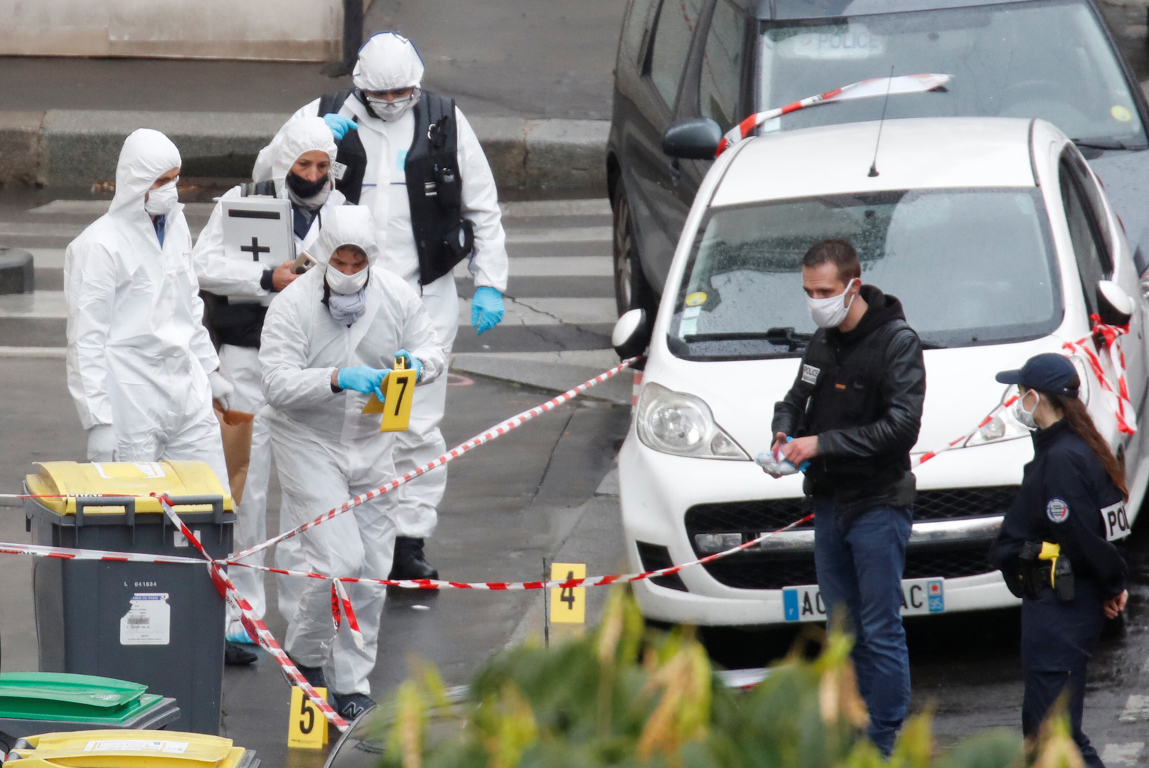 فرنسا.. منفذ هجوم