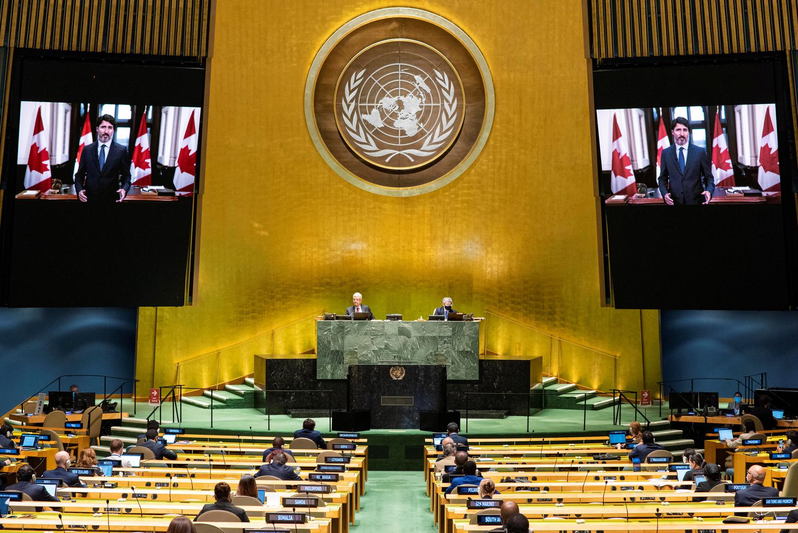 كلمات سوريا والمغرب والسودان أمام الجمعية العامة للأمم المتحدة