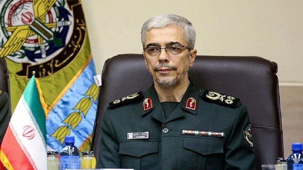 قائد هيئة الأركان الإيرانية اللواء محمد باقري