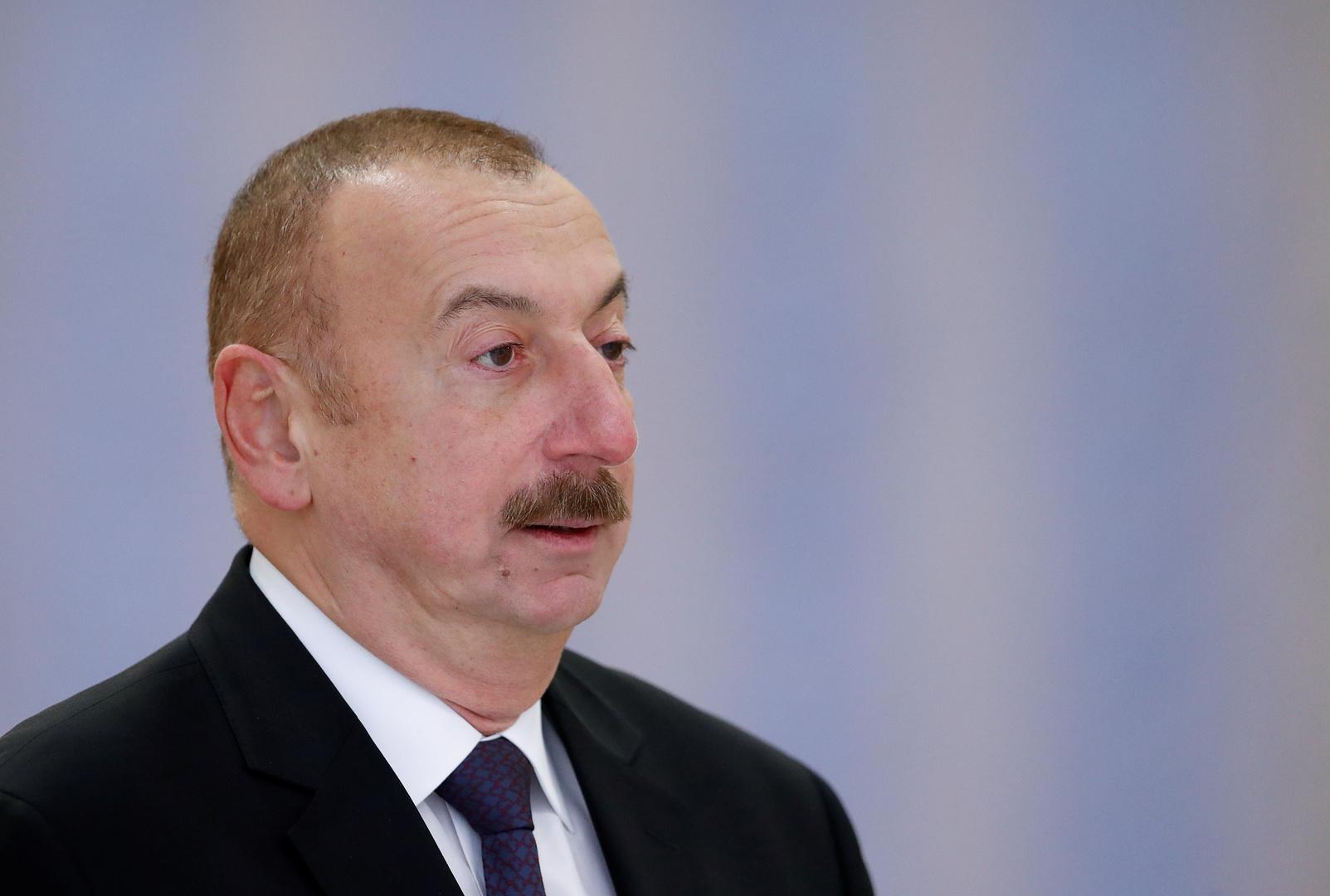 رئيس أذربيجان يعلن نجاح