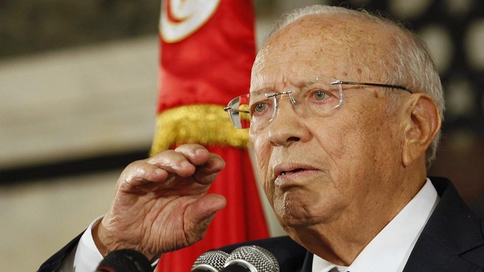 تونس.. إزالة النصب التذكاري للرئيس السبسي