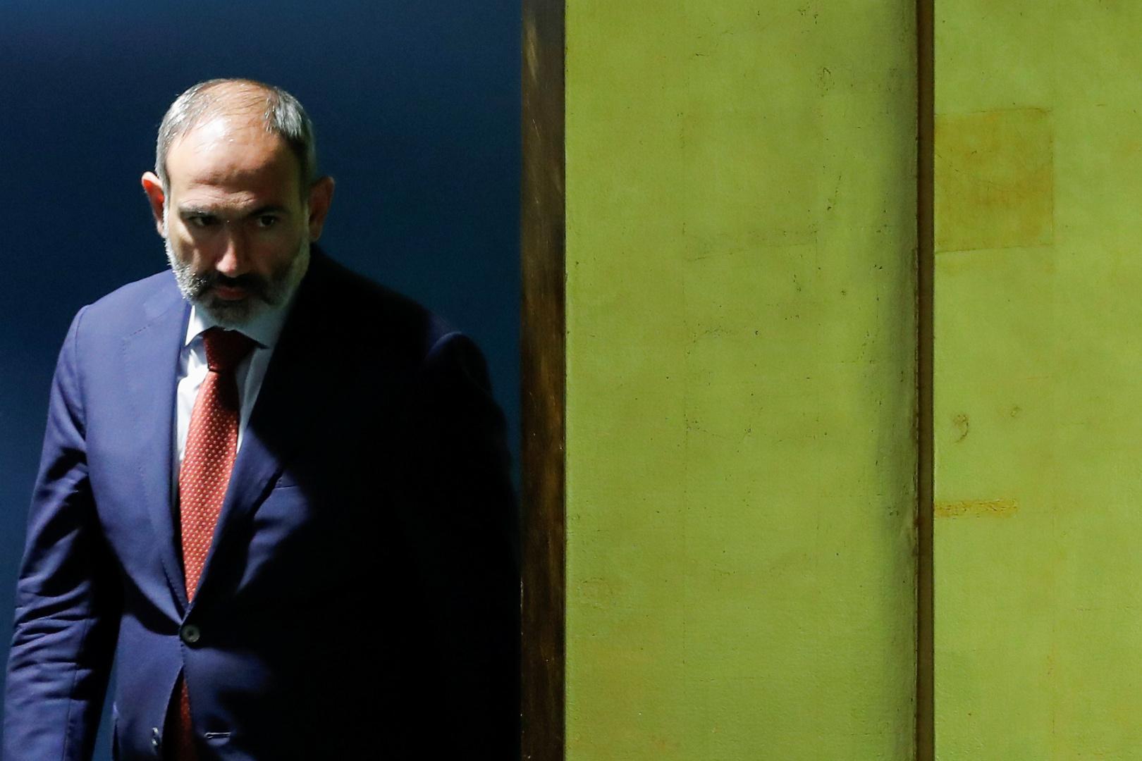 رئيس الوزراء الأرمني، نيكول باشينيان
