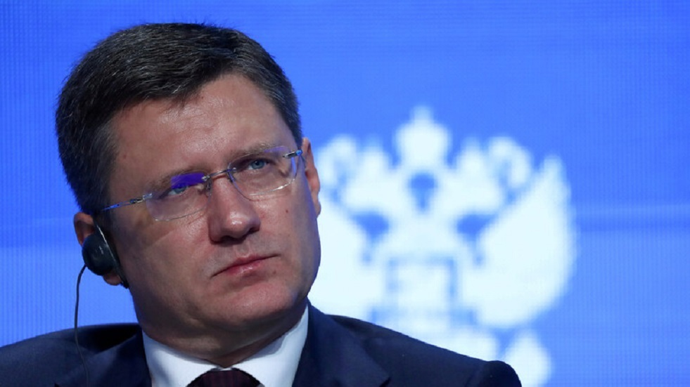 نوفاك يشيد بجهود روسيا في منع انهيار الاقتصاد العالمي