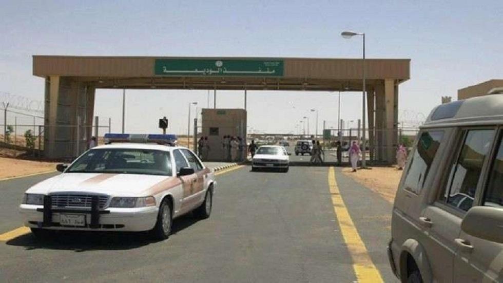 منفذ الوديعة الحدودي بين اليمن والسعودية- صورة أرشيفية