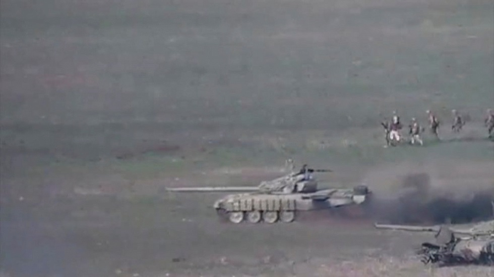 اشتباكات بين أرمينيا وأذربيجان في إقليم قره باغ