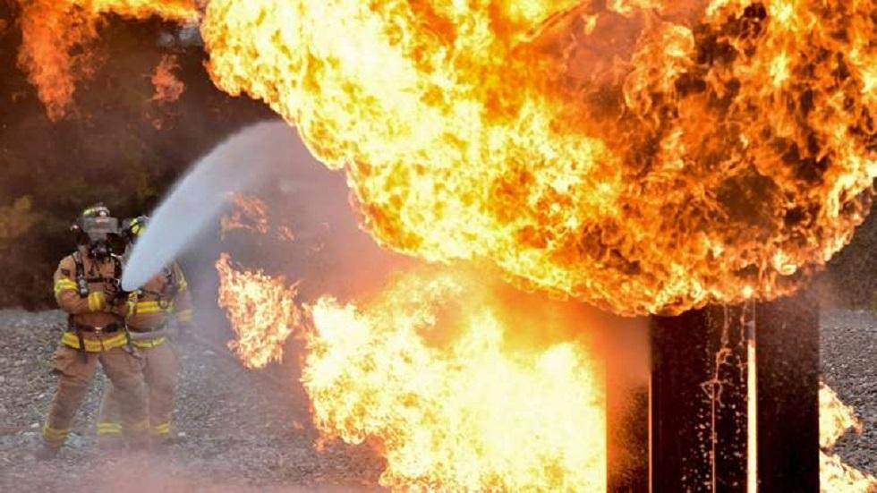 إيراني يضرم النار في عيادة رفضت استقباله (فيديو)