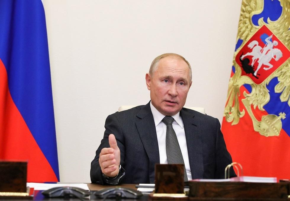 الرئيس الروسي فلاديمي بوتين