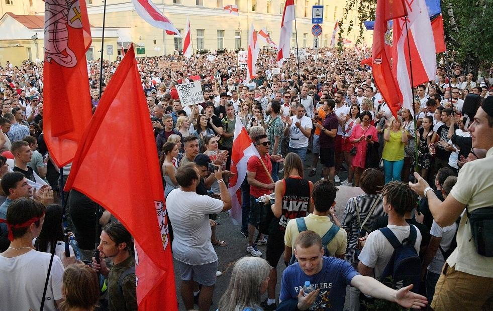ليتوانيا تدعو روسيا للتوسط بين سلطات وشعب بيلاروس