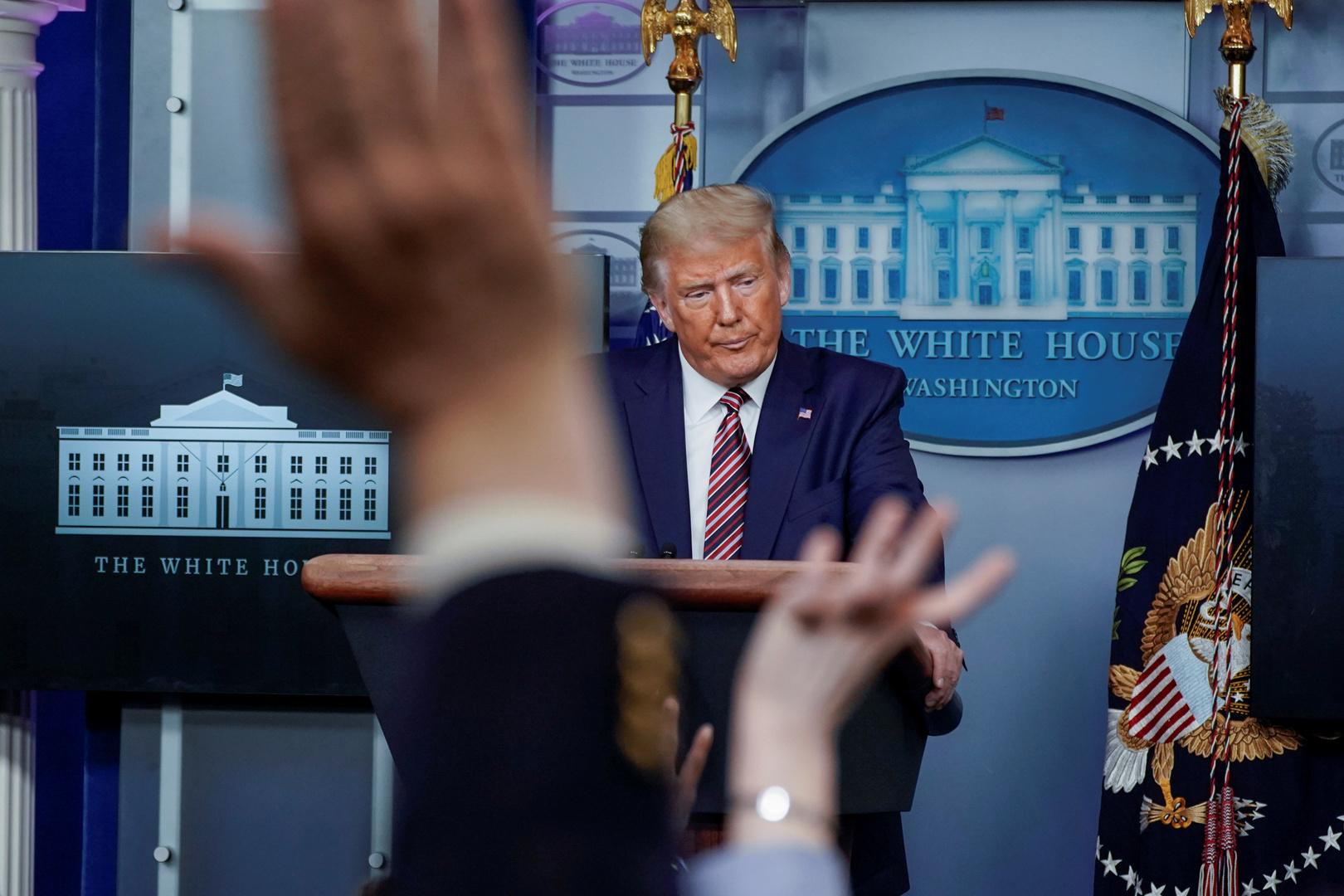 ترامب لا يخسر السباق الرئاسي