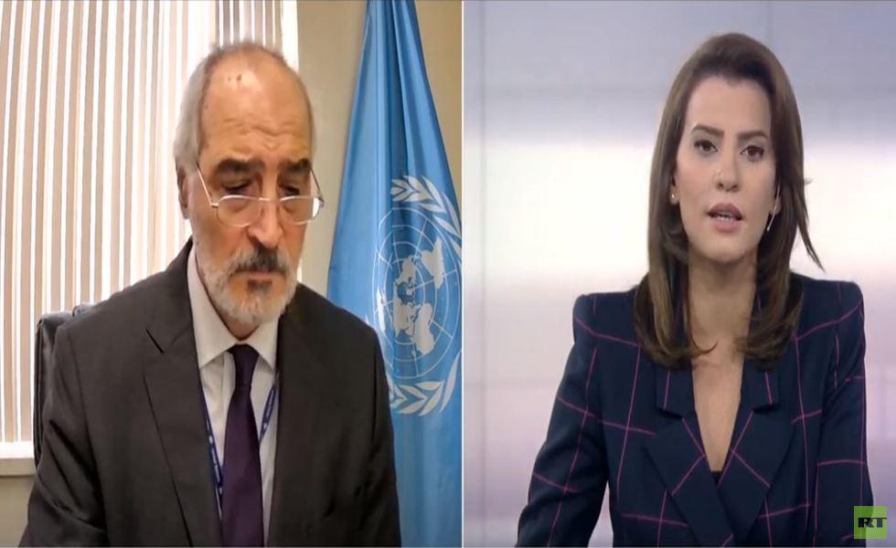 بشار الجعفري: الأمم المتحدة تغيرت شكلا ومضمونا وأحكامها لا تطبق