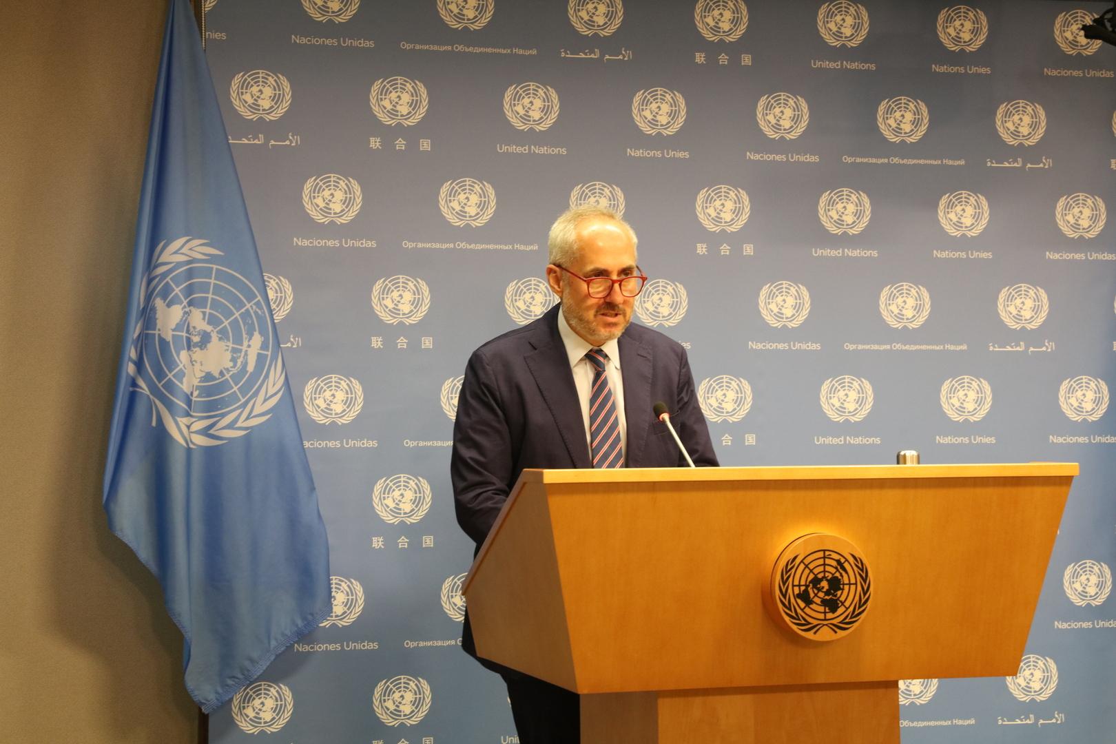 الأمم المتحدة: لا معلومات لدينا حول تدخل تركيا في نزاع قره باغ