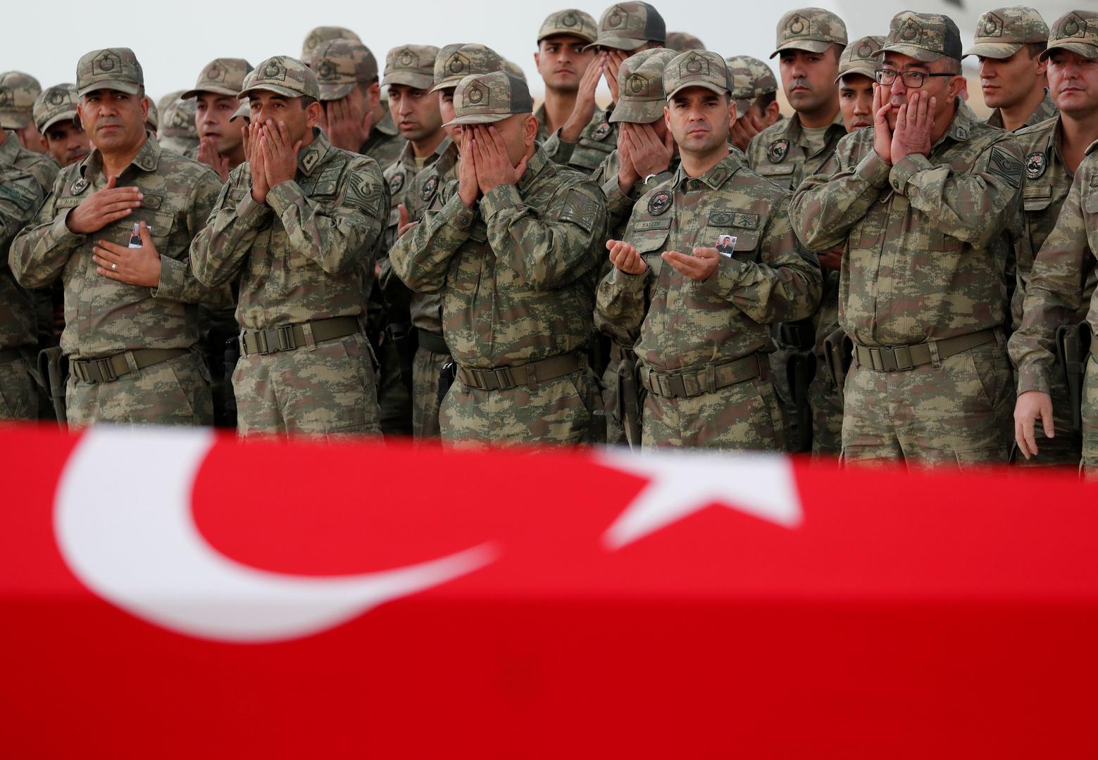 مقتل جندي تركي بانفجار شمالي العراق