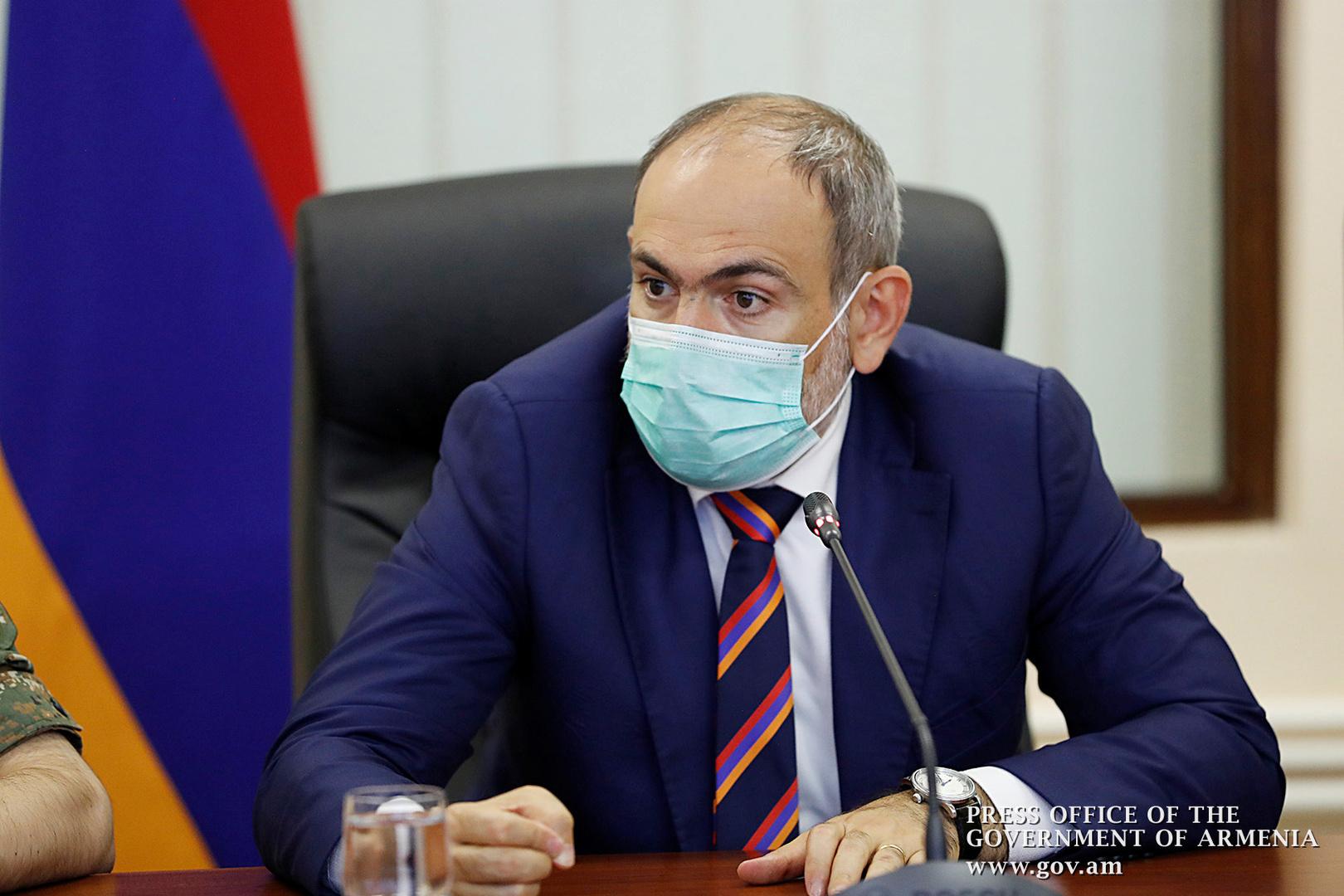 رئيس وزراء أرمينيا يعقد جلسة طارئة لبحث توجيه