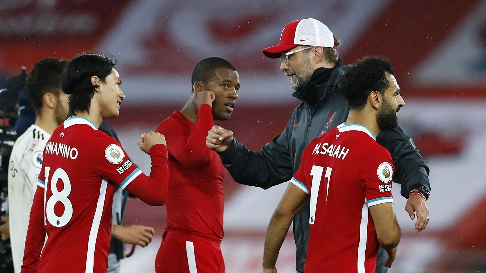 ليفربول  يهزم أرسنال في قمة الجولة الثالثة