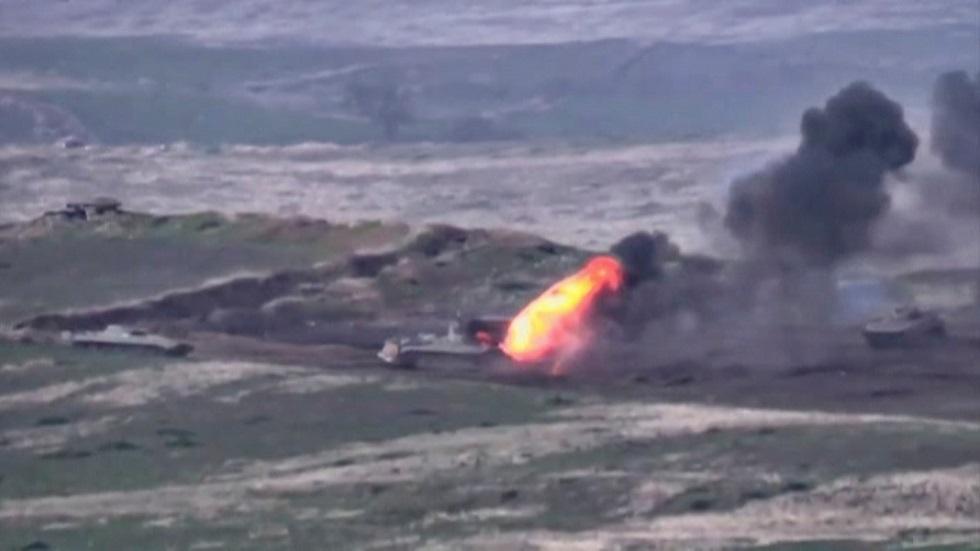القوات الأرمنية تهدد باستخدام أسلحة ذات تدمير واسع النطاق في الحرب ضد أذربيجان