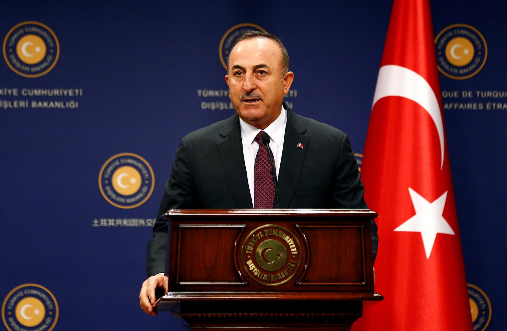 وزيرالخارجية التركي مولود تشاويش أوغلو