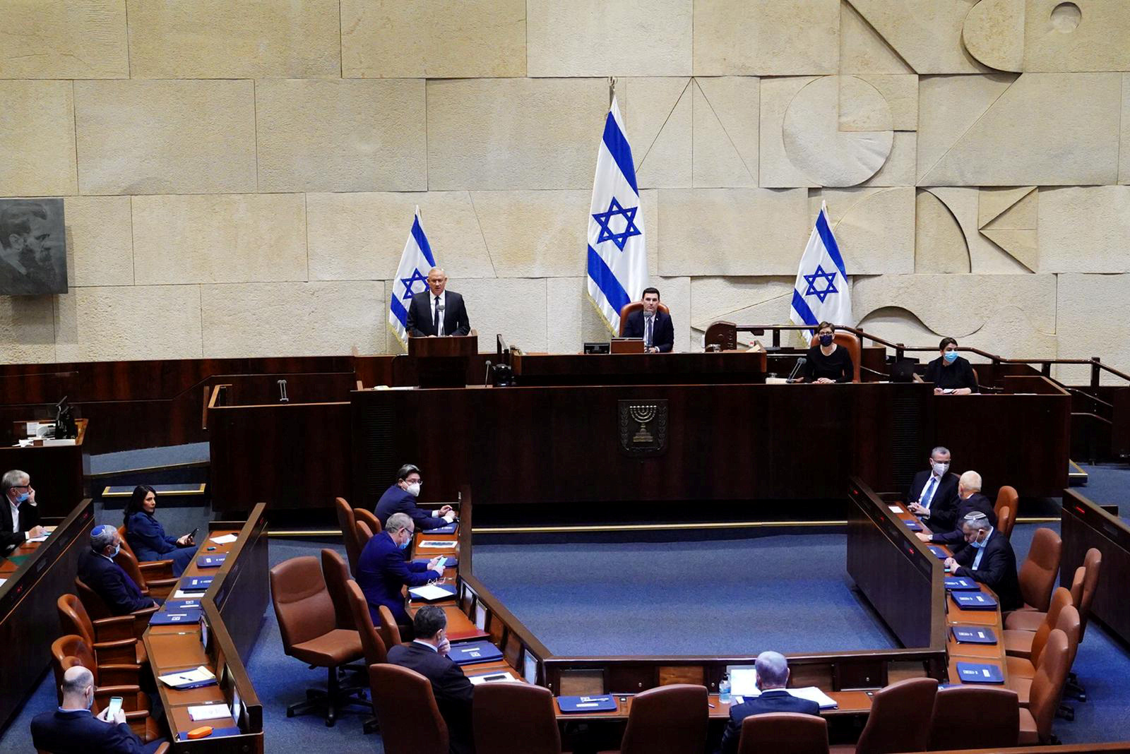 الكنيست الإسرائيلي يناقش إجراءات لتقييد الاحتجاجات