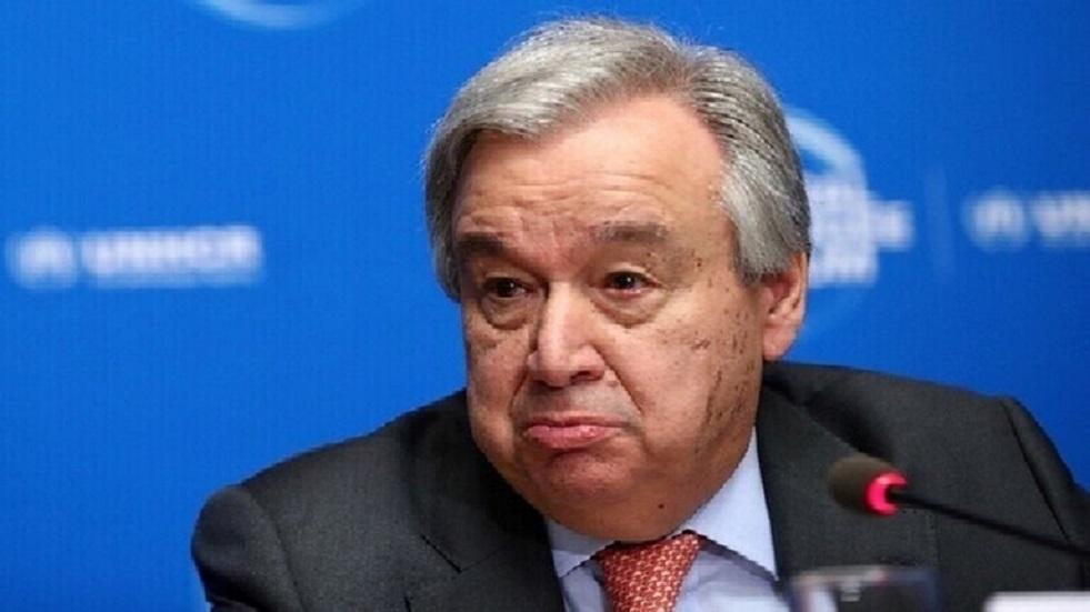 غوتيريش يحذر من احتمال حدوث ركود عالمي بسبب الوباء