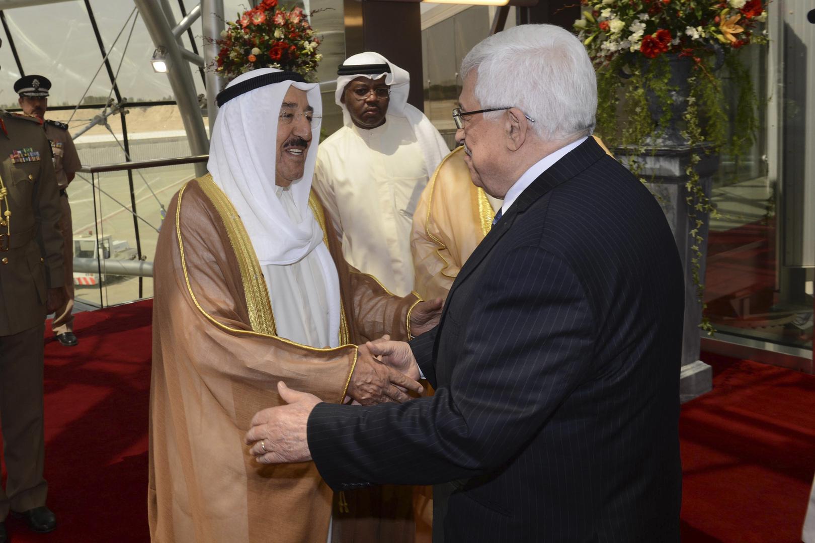 عباس ينعي أمير الكويت: فلسطين خسرت قائدا عربيا وزعيما للإنسانية