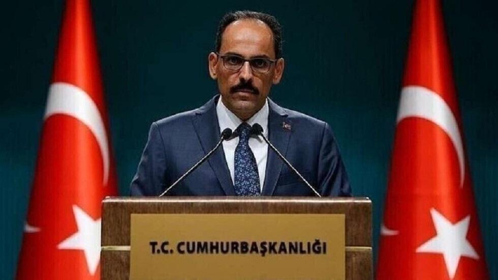 الناطق باسم الرئاسة التركية إبراهيم قالين