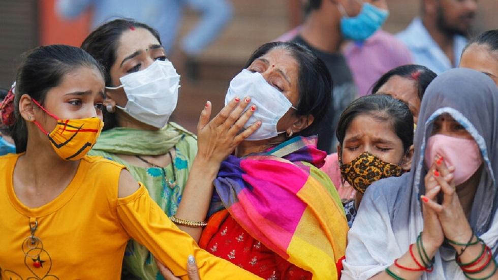 دراسة: إصابات كورونا في الهند 10 أضعاف المعلن