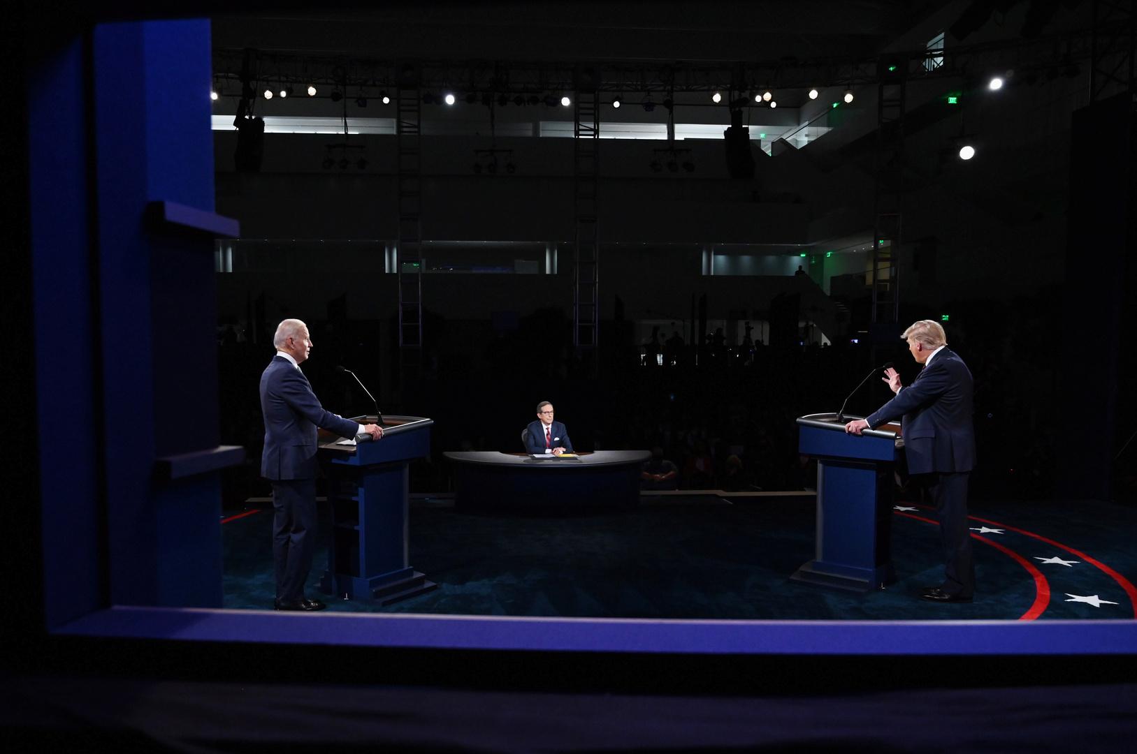 ترامب وبايدن في أول مناظرة.. اتهامات على المستوى الشخصي