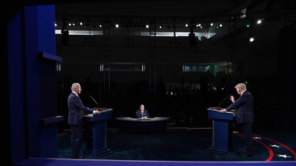 صرخة أثناء المناظرة: