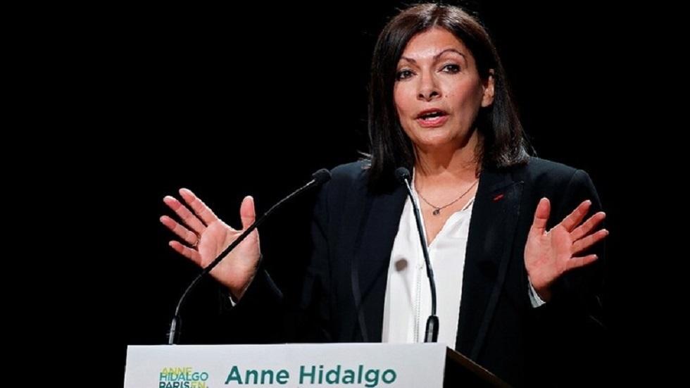 رئيسة بلدية باريس آن هيدالغو