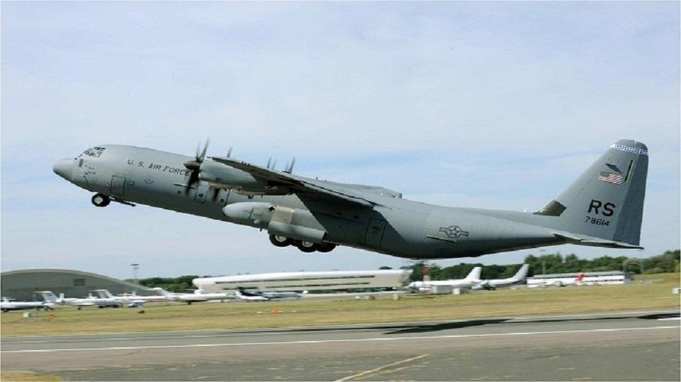 هبوط اضطراري لطائرة شحن عسكري أمريكية جنوب أوكرانيا