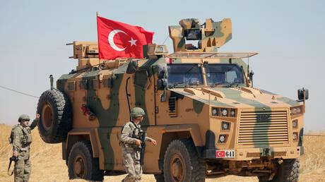 """تركيا: تحييد 8 عناصر من الوحدات الكردية حاولوا التسلل لمنطقة """"نبع السلام"""" شمال سوريا"""
