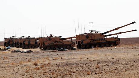 """""""سانا"""": الجيش التركي يقصف قرية علوك شمال شرق سوريا"""