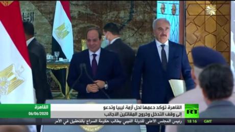 القاهرة.. دعم الحل في ليبيا